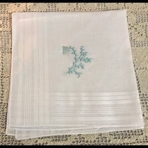 Thinking of You Accessories - Thinking of You Gift! Full Size Hankie w/Sea Glass